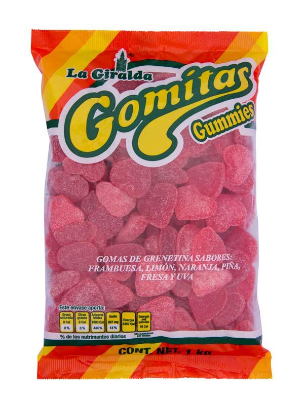 La Giralda Gomas Goma Corazon
