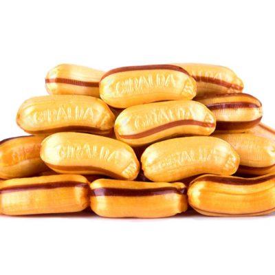 Caramelos Plátano Relleno
