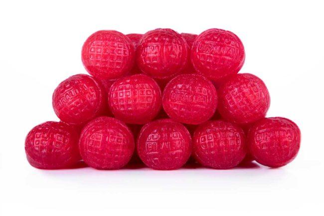 Caramelos bola roja La Giralda