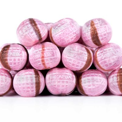 Caramelos bola rosa La Giralda
