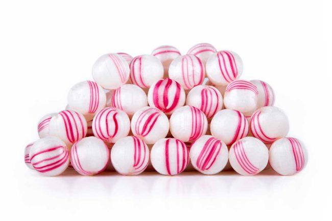 Caramelos botón menta La Giralda