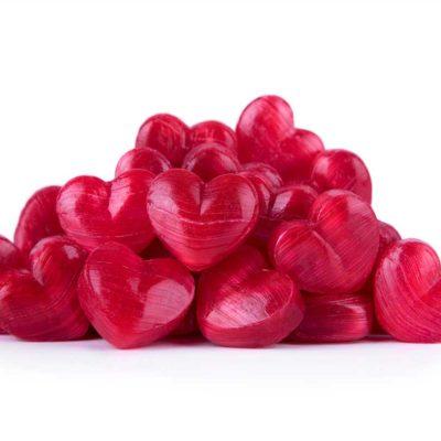 Caramelos corazón sabor sandía La Giralda