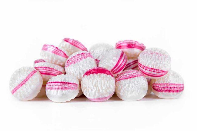 Caramelos Flor sabor menta La Giralda