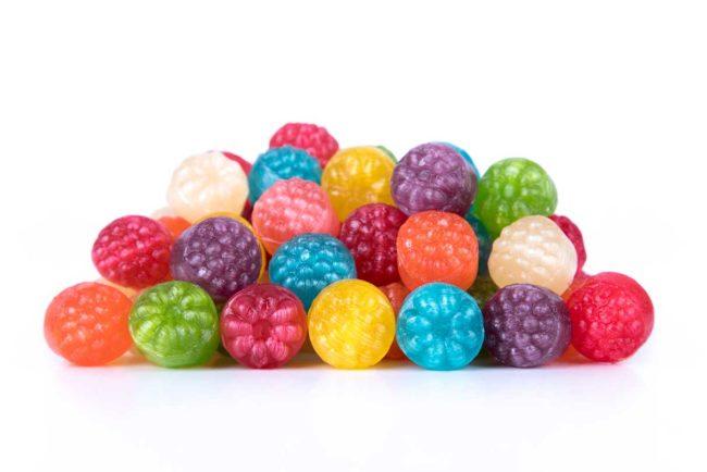 Caramelos Frambuesa sabores surtidos La Giralda