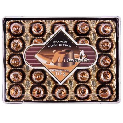 Chocolates en Estuche Rectangular Cajeta La Giralda