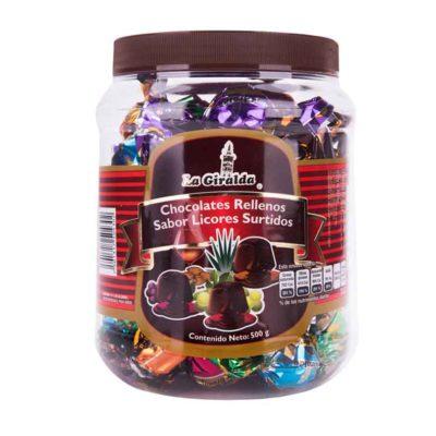 Chocolates Frasco Surtido La Giralda