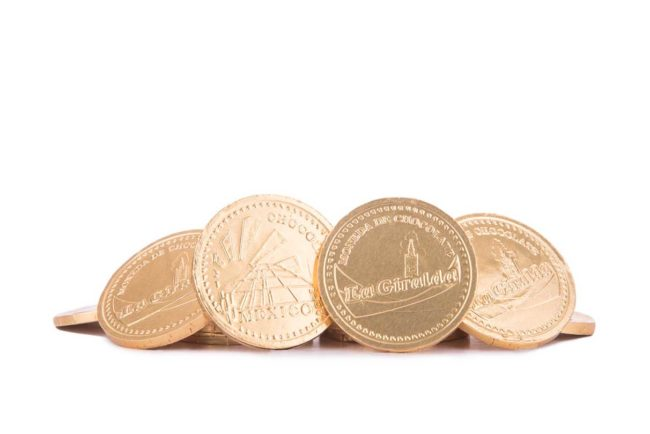 Chocolates Moneda Dorada Chica La Giralda