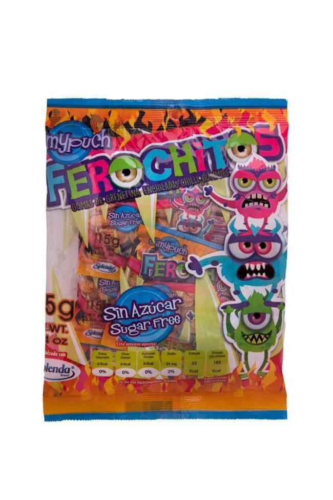 Gomas Sin Azúcar Ferochitos Enchilados packJimy Puch